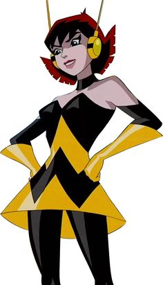 Wasp, from the Avengers. My family believes that I am very like her and in some ways, I have to agree.