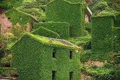 village de pêcheur abandonné - Chine