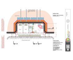 Global Model Earthship Two Bedroom Construction Drawings