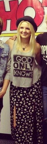 Rydel Lynch fashion : outfits for Hot 101 Radio in Ohio, Youngstown on Sep. 25! ----------♪♪God only knows♪♪ Lyrics of Ain't No Way We're Going Home :D----------