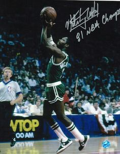 "Autographed Nate """"Tiny"""" Archibald Boston Celtics 8x10 Photo Inscribed """"81 NBA Champs"""""