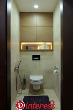 Architecture & Design: 40 Of The Best Modern Small Bathrooms & Functional Toilet Design Ideas – Amazing Architecture Magazine Modern Small Bathrooms, Guest Bathrooms, Amazing Bathrooms, Modern Bathroom, Vanity Bathroom, Serene Bathroom, Vanity Area, Modern Wall, Tiny Bathrooms
