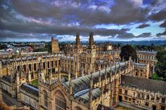 All Souls College | 32 Photos That Prove Oxford Is An Awe-Inspiring Wonderland