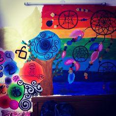 Wall paint!!! <3 by prakritichoubey12
