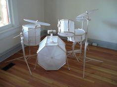 Paper #Drum Set!