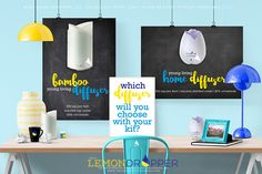 I personally love them both. I have the Bamboo in the living room and Home diffuser in the bedroom. Which do you want?