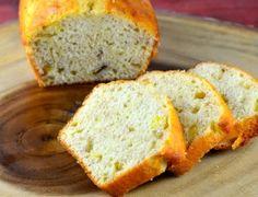 Low Calorie Banana Bread Makes 2 loaves/ 24 serv 43.3 cal,5.5 g sugar,9.6 g carb, 7.7 mg cholesterol