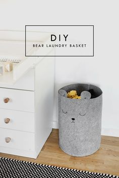 Pretty, Dirty Laundry: A Nursery DIY | baby room decor | kid's bedroom idea