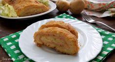 Polpettone+di+patate+farcito