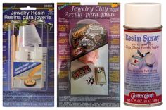 Resin Crafts: Jewelry Resin or Jewelry Clay for Molding