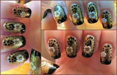 Fall inspired nails