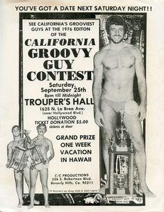 Groovy Guy Contest, Hollywood, California, 1976