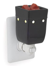 Look at this #zulilyfind! Black Square Plug-in Wax Warmer by Candle Warmers #zulilyfinds