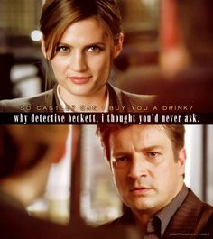 Oh the innuendoes! ;) #Castle