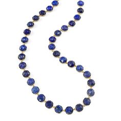 Lapis necklace available at shopesinglestone.com