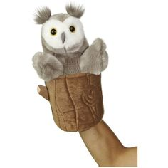 """Aurora World Pop Up Owl 11"""" Plush Puppet >>> Be sure to check out this awesome product. (This is an affiliate link) #Puppets"""