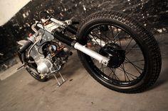 Honda CT110 custom Postie ~ Return of the Cafe Racers