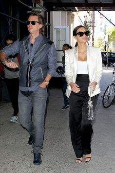 Kim Kardashian - NYC with Jonathan Cheban Jonathan Cheban, Fashion Idol, Kardashian Style, Bff, Suits, Celebrities, Celebs, Suit, Wedding Suits
