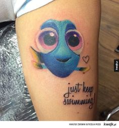 Dory Tattoo More Source by Maggieooooooooo Tattoo,Tattoos,small Tattoo,Tattoo quotes,meaningful Tatt Dory Tattoo, 27 Tattoo, Cover Up Tattoos, Leg Tattoos, Body Art Tattoos, Tribal Tattoos, Tattos, Trendy Tattoos, Popular Tattoos