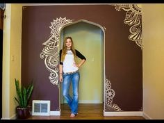Painting My Walls - I MOVED! - YouTube ~ Elsa Rhae
