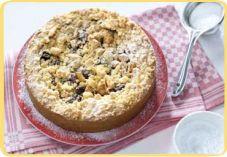 Recept voor Appel-cranberry kruimeltaart - Koopmans.com