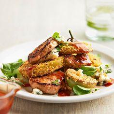 Fried Green Tomato Salad   BHG