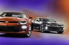 The new 2017 Chevrolet Camaro SS is packed with power, a better exterior, a better interior and enough technology to let it blast with the big boys thanks to the new lightweight Alpha platform. Chevrolet Camaro, Chevy Camaro, Camaro 2016, Fancy Cars, New Engine, Latest Cars, Ford Mustang, Classic Cars, Automobile