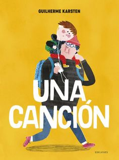 """Guilherme Karsten. """"Una canción"""". Editorial Edelvives (3 a 10 años) Editorial, Calm, Artwork, Movie Posters, Products, Children's Literature, Children's Books, Listening To Music, Songs"""
