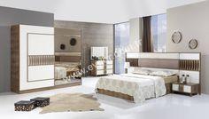 Modern Bedroom Furniture Sets, Modern Luxury Bedroom, Bed Furniture, Luxurious Bedrooms, Bedroom Sets, Bedroom Decor, Furniture Ideas, Wardrobe Design Bedroom, Bed Design