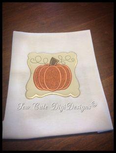 Elegant Border Primitive Fall Harvest by SewCuteDigiDesigns, $5.00