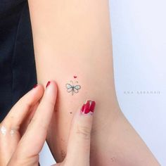 get some inspirations from these mini tattoo; butterfly tattoos The post get some inspirations from these mini tattoo; appeared first on Best Tattoos. Mini Tattoos, Little Tattoos, New Tattoos, Body Art Tattoos, Small Tattoos, Tatoos, Heart Tattoos, Tattoo Girls, Petit Tattoo