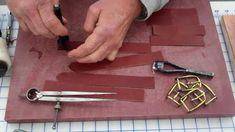 Demo on making leather saddlebags