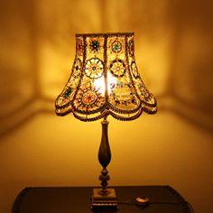 Unique Bohemian Lampshade
