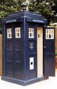 The Tardis - Time Machine