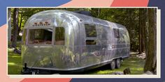"""In upstate New York, Ed Potokar and Amy Rosenfeld are """"saving"""" old Airstreams. Airstream Renovation, Upstate New York, Step Inside, Hudson Valley, Square Feet, Outdoor Gear, Beautiful Homes, Tent, Home And Family"""