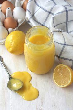 Lemon Curd - 1/2 C + 2 tbsp (141 grams) unsalt butter cubed, 1 C (200 grams) sugar, 1 C (237 ml) fresh lemon juice (3-4 lemons), zest of 3 lemons, 10 large egg yolks.