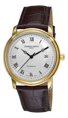 Gold watches for men Frederique Constant