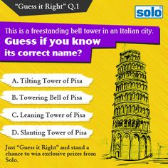 "Just ""Guess it Right"" and stand a chance to win exclusive prizes from Solo."