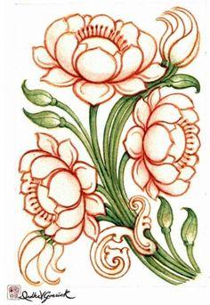 motif from ajanta caves Lotus Flower Art, Flower Art Drawing, Kalamkari Painting, Madhubani Painting, Pichwai Paintings, Indian Art Paintings, Texture Painting On Canvas, Fabric Painting, Saree Painting Designs