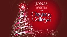 "JONAS en duo avec MARIE MAI - ""Christmas Calling (v. f.)"" (Audio Officiel) Audio, Marie, Christmas Bulbs, Neon Signs, Holiday Decor, Artwork, Officiel, Youtube, Happy New Years Eve"