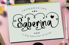 Saberina by JROH Creative on Creative Market