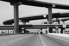 Highway junction in Austin, Texas. Moving Forward, Marina Bay Sands, Texas, Building, Travel, Art, Art Background, Move Forward, Viajes