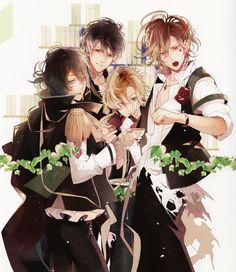 Diabolik Lovers Dark Fate   Satoi, Rejet, Diabolik Lovers ~Haunted dark bridal~, Mukami Yuuma ...