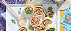 Bruschetta, Starters, New Recipes, Tacos, Mexican, Chicken, Meat, Ethnic Recipes, Drinks