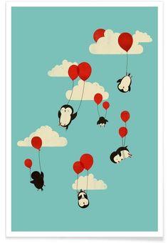 wefly als Premium Poster von Jay Fleck | JUNIQE