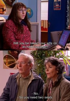 Little Britain is our favourite all-time sketch! Little Britain, Hand Luggage, Your Wife, Films, Tv, Style, Movies, Swag, Carry On Luggage
