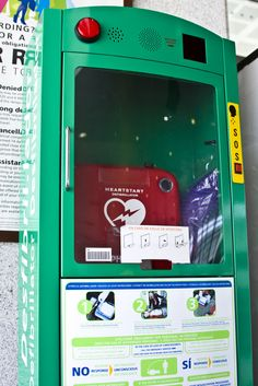 Automated External Defibrillators Talk To You