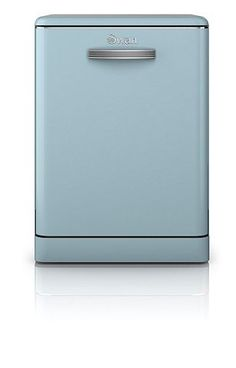 Tesco direct: Swan Retro Standard Dishwasher - SDW7040BLN - Blue
