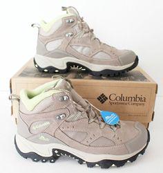 New Columbia Coretek WP Womens Sz 8 Hiking Boots Shoes UK 6 EUR 39 BL 3444275 #Columbia #HikingTrail