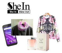 """She In - Shine Out"" by ourdesignpages on Polyvore featuring Lancôme"
